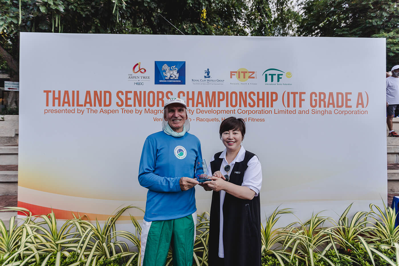 The Aspen Tree highlights Thailand's appeal for older adults at ITF Championship seniors tennis tournament