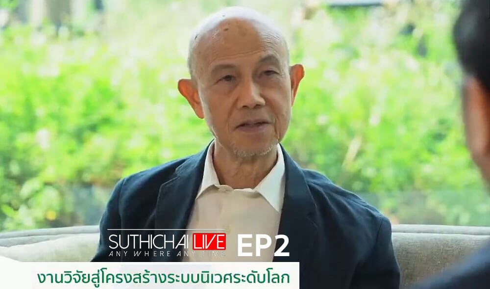 """The Forestias Features on """"Suthichai Live"""" with """"Global Ecology Research"""""""