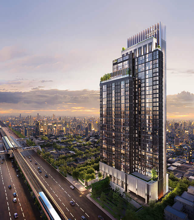 Mulberry Grove Sukhumvit project